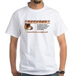 Horn-u-Copia Products White T-Shirt