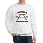 The campers dining room table Sweatshirt