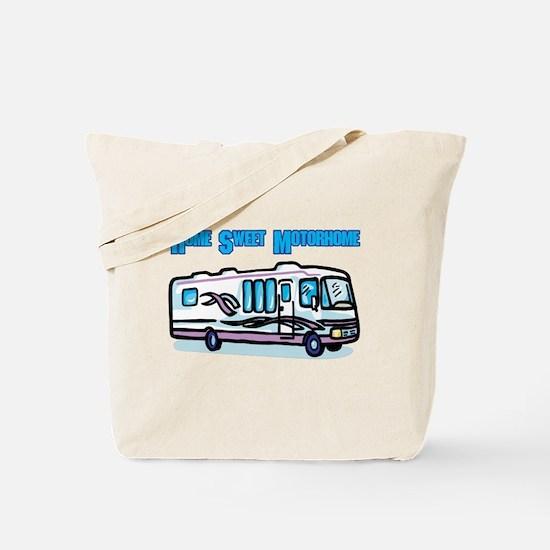 Home Sweet Motorhome Tote Bag