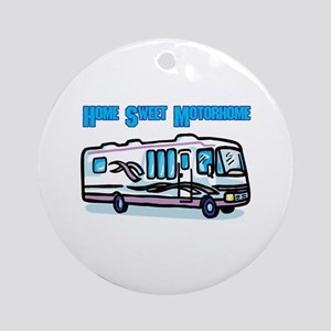 Home Sweet Motorhome Ornament (Round)