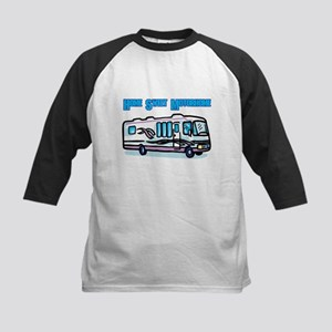 Home Sweet Motorhome Kids Baseball Jersey