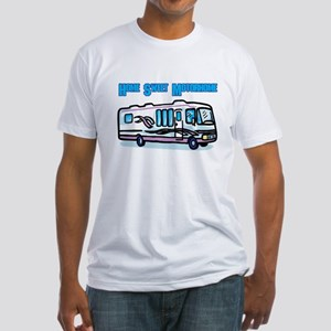 Home Sweet Motorhome Fitted T-Shirt