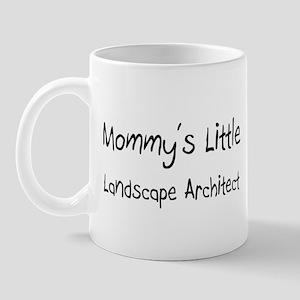 Mommy's Little Landscape Architect Mug