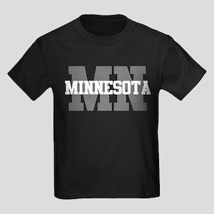 MN Minnesota Kids Dark T-Shirt