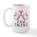 Meet The Twins Large Mug