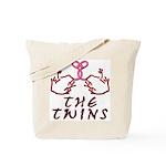 Meet The Twins Tote Bag