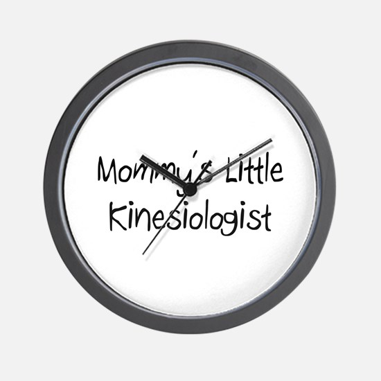 Mommy's Little Kinesiologist Wall Clock