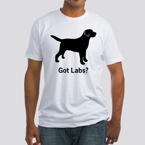 Got Labs? Silhouette Fitted T-Shirt