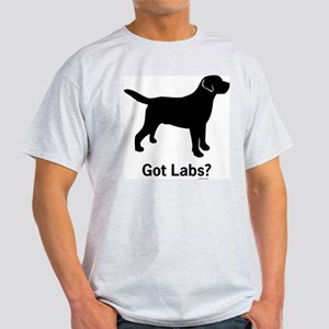 Got Labs? Silhouette Light T-Shirt