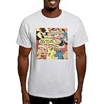 Western Cowgirl Cowboy Pop Art Light T-Shirt