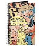 Western Cowgirl Cowboy Pop Art Journal