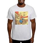 Sexy Western Cowgirl Pop Art Light T-Shirt