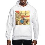 Sexy Western Cowgirl Pop Art Hooded Sweatshirt