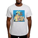 Sexy Cowboy Cowgirl Western Pop Art Light T-Shirt