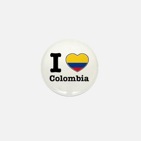 I love Colombia Mini Button
