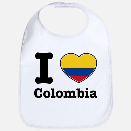 I love Colombia Bib