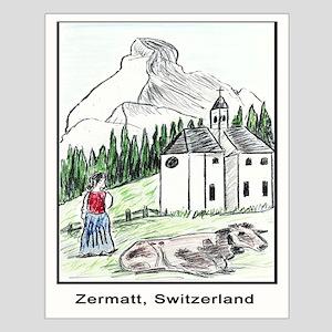 Zermatt Small Poster