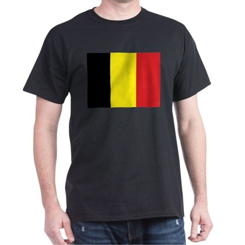 Belgian Flag - High Quality Image T-Shirt