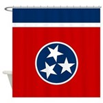 Tennessee State Stars Shower Curtain