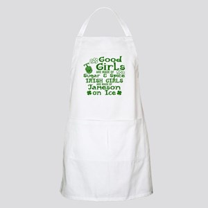 Good Girls Are Made Of Sugar & Spice I Light Apron