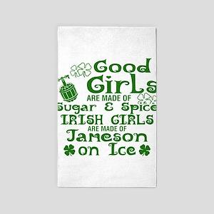 Good Girls Are Made Of Sugar & Spice Iris Area Rug