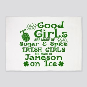 Good Girls Are Made Of Sugar & Spic 5'x7'Area Rug