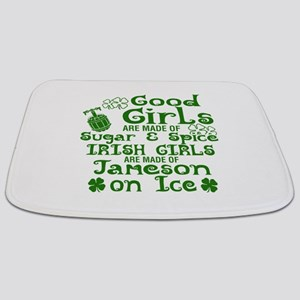 Good Girls Are Made Of Sugar & Spice Irish Bathmat