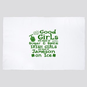 Good Girls Are Made Of Sugar & Spice I 4' x 6' Rug
