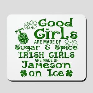 Good Girls Are Made Of Sugar & Spice Iri Mousepad