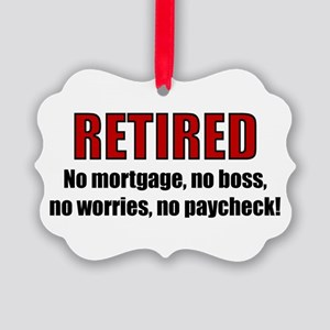 RETIRED No Worries Picture Ornament