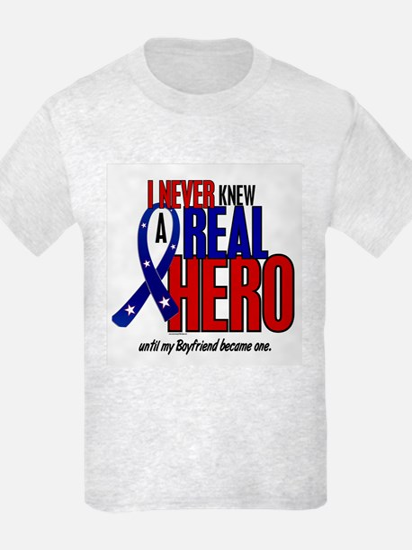 Never Knew A Hero 2 Military (Boyfriend) T-Shirt