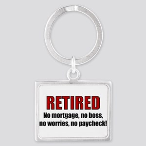 RETIRED No Worries Keychains