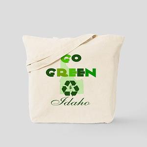Go Green Idaho Reusable Tote Bag