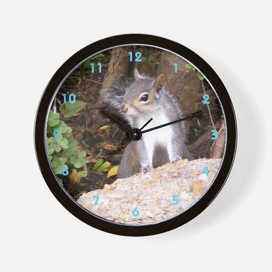 Pretty Squirrel Wall Clock