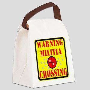 Militia Crossing Canvas Lunch Bag