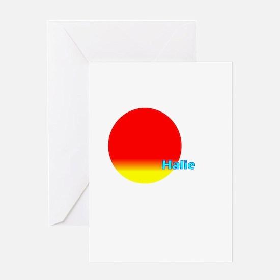 Halie Greeting Card