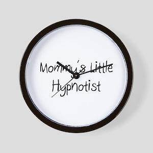 Mommy's Little Hypnotist Wall Clock