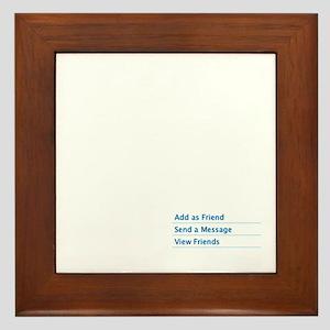 Add as Friend Framed Tile