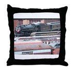Steamtown Steam Throw Pillow