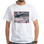 Steamtown Steam White T-Shirt