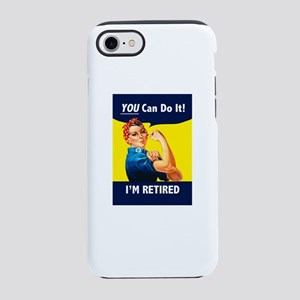 Rosie The Retired Riveter iPhone 8/7 Tough Case