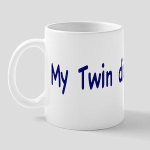 My Twin did it Mug