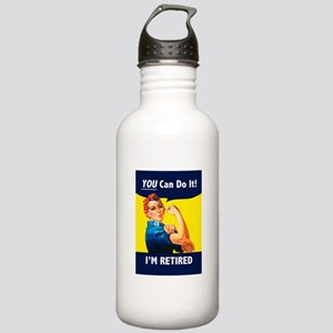 Rosie The Retired Rive Stainless Water Bottle 1.0L
