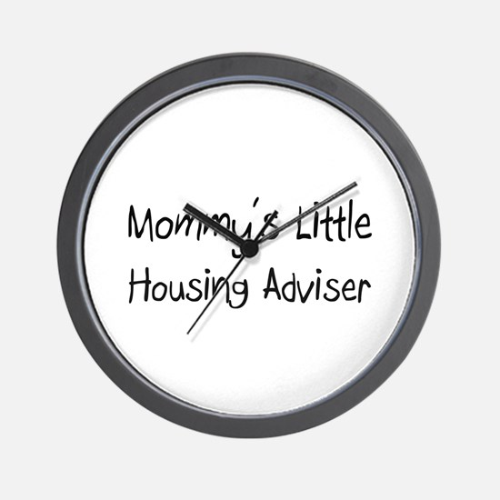Mommy's Little Housing Adviser Wall Clock