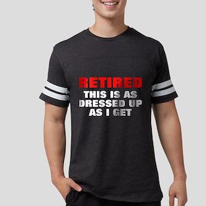 Retired Dressed Up Women's Dark T-Shirt