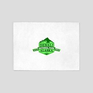 Denali - Alaska 5'x7'Area Rug