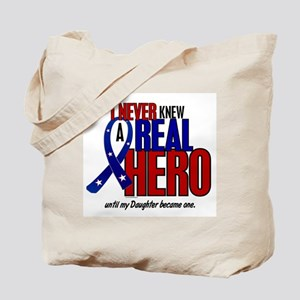 Never Knew A Hero 2 Military (Daughter) Tote Bag