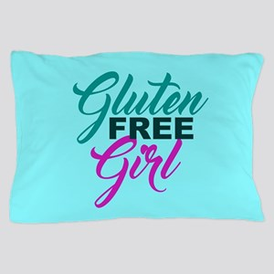 Gluten Free Girl Pillow Case