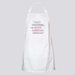Example Personalized Nationality BBQ Apron
