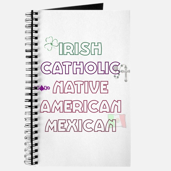 Example Personalized Nationality Journal